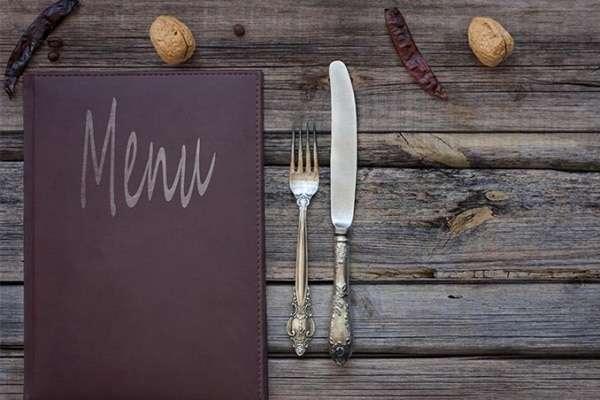Restaurant Menu Center City Print Scranton Wilkes